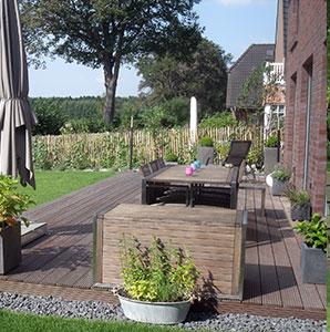 Terrasse als Wohnraum
