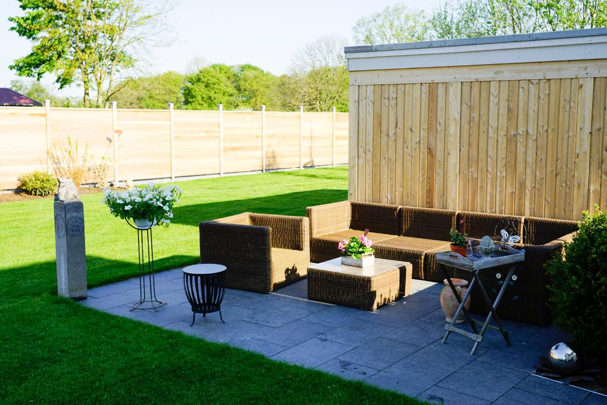 Terrasse Sitzmöbel Outdoor Lounge Großensee