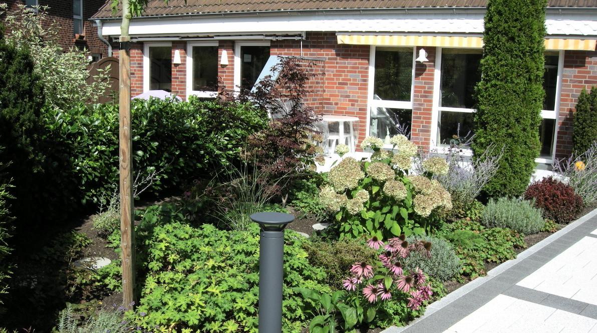 Baumpfahl Terrassen Kleine Gärten Ahrensburg
