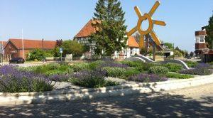 Markt Grömitz Stauden Kreisverkehr