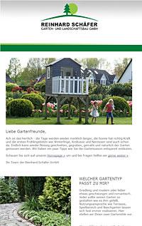 Newsletter Garten online