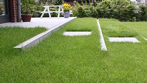 Gartengestaltung - Rasenstufen in Lübeck