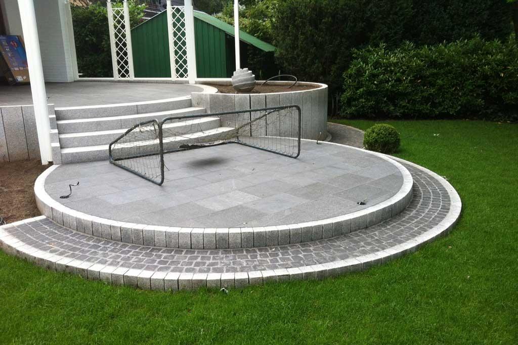 Granit-Kleinpflaster Granitplatten Hamburg